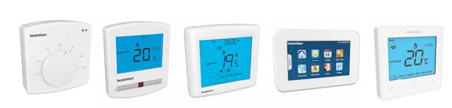 Heatmiser Controls Range